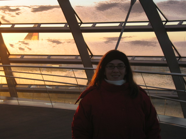 Meli at the Reichstag