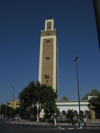 Mosque tower