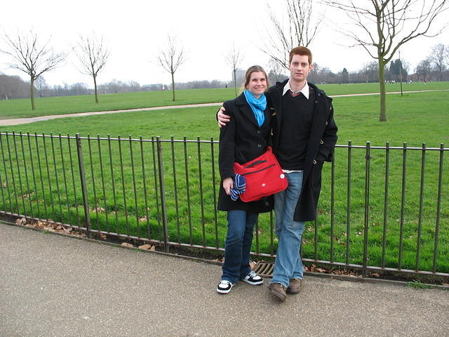 Kris and Jack at Hyde Park