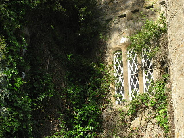 Windows of Malahide Castle