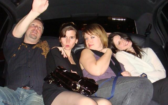 riding the limo to spearmint rhino