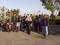 Bay Area Riders ride to Isleton