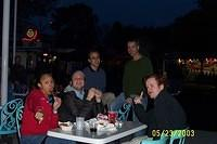 Jess, Mike, Cody, Jay and Aaron at Gay and Lesbian Night at Great America