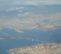 The Bay Bridge and East Bay