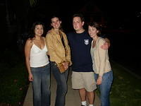 Deanette, Kris, Sean, and Maggie in San Diego