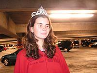 parking lot princess!