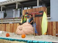 "My mom and I went to the Half Moon Bay ""Art and Pumpkin"" Festival. When I was a little kid, it was just ""Pumpkin"