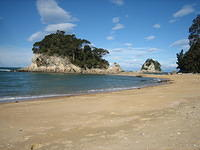 abel tasman is a huge national park on the south island that's on the north-west side.