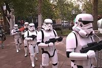 Star Wars Episode III in London