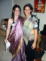 Kali (Nuala) and Gayatri (Marina)