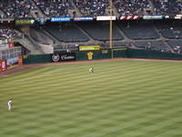 Ichiro; as seen from our expensive seats