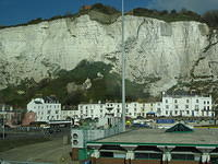 from the chalky cliffs of dover