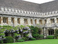 Magdalen had the best smell of anywhere in England