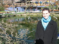 Tivoli, Europe's oldest amusement park, and Kris, Europe's humanest piggy