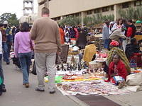 the maasai market in nairobi, where i haggled with sellers and learned i'm not a good haggler.