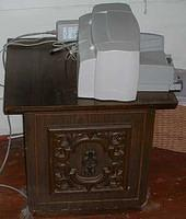 End Table and Printer