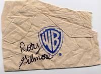Commissary napkin of the WB signed by Rory Gilmore