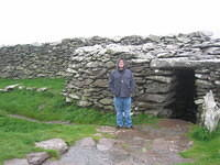 Ring fort number four -- Dunbeg Fort, with rain.