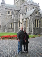Christ Church Cathedral (did you know that Dublin doesn't have a permanent Catholic cathedral?).