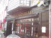 King's Head Pub, not actually established in 1649.