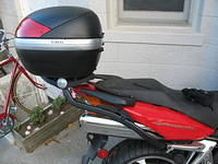 Givi FZ166 Monorack and V46 Case