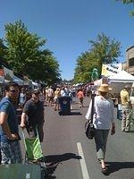 Our second day in Bend, they had a giant food festival. Bend, let me tell you, was AWESOME that weekend.