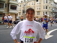 SF Fit 2005 Coach Christine at Bay to Breakers