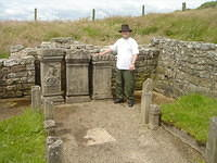 me at the Temple of Mithras